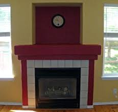 box fireplace surround gel insert diy glass decorating ideas