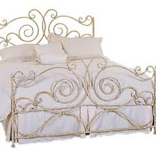 bed u0026 bath antique wrought iron bed frames for your bedroom
