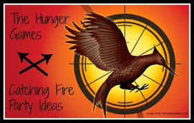 the hunger games catching fire party ideas and free printables