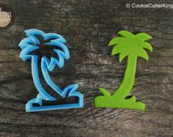 palm tree cookies etsy