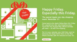apple announces black friday sale apple gazette