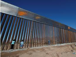 trump admits mexico border wall will cover less than half of the