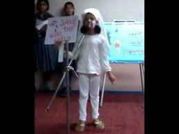 kavya sharma save the child fancy dress competition youtube