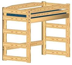 Wood Twin Loft Bed Plans by Loft Bed Diy Woodworking Plan To Build Your Own And Hardware Kit