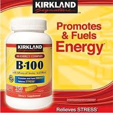 krikland kirkland signature b 100 hi energy complex with advanced amino