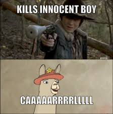Memes Of The Walking Dead - caaarrrllll the walking dead know your meme