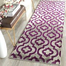 Lilac Runner Rug Fancy Purple Runner Rug Classof Co
