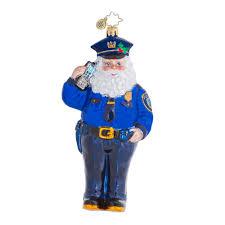 radko ornaments charity enforcement ornament