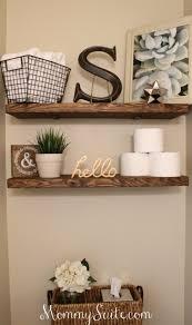 bathroom wall shelf ideas 15 bathroom diy ideas 3 cool diy shelf diy home