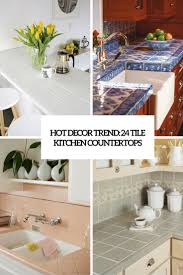 kitchen best 25 tile kitchen countertops ideas on pinterest