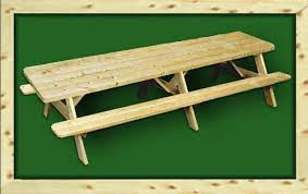 Wooden Picnic Table Plans Picnic Tables Delivered Pine Wood Outdoor Picnic Tables