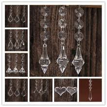 Party Chandelier Decoration by Hanging Crystal Wedding Decorations Promotion Shop For Promotional