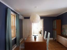 Blue Dining Room A New Dark Dining Room