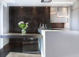 beton ciré mur cuisine béton ciré pour mur de cuisine matières décoratives
