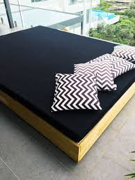 Outdoor Daybed Mattress Outdoor Daybed In Sunbrella The Foam Booth
