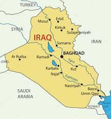 iraq map vector republic of iraq vector map stock vector pavalena 10120314