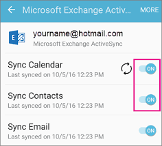 sync outlook calendar with android can t sync calendar and contacts with my phone or tablet office