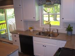 Kitchen Laminate Countertops by Karran Stainless Steel Undermount Sink In Wilsonart Laminate