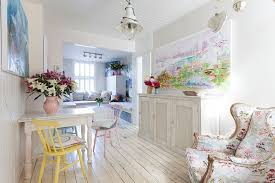 Shabby Chic Sunroom 50 Cool And Creative Shabby Chic Dining Rooms