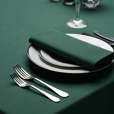forest green table linens forest green tablecloths in round square circular richard haworth