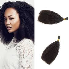 how to tight american hair tight curly bulk human hair for african american 10 28 inch