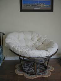 Papasan Chair And Cushion Chair Furniture Charming Rattan Papasan With Floral Square Cushion