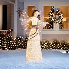 lighted angel christmas decoration classy design outdoor angel christmas decorations lighted clearance