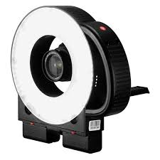 ring light for video camera fotodiox pro led 411a led dimmable photo video ring light kit with