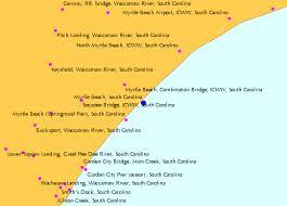 south carolina beaches map myrtle south carolina tide chart