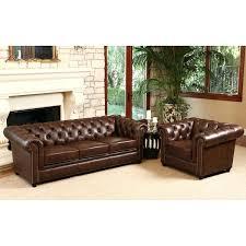 Chesterfield Tufted Leather Sofa Tufted Leather Sofa Set Wojcicki Me