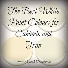 what is the best white to paint cabinets the 4 best white paint colours for cabinets benjamin