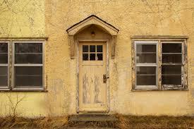 chambre de motel porte extérieure d une vieille chambre de motel photo stock image