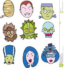 Cartoon Halloween Monsters Monster Clipart