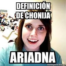 Meme Definicion - meme overly attached girlfriend definición de chonija ariadna