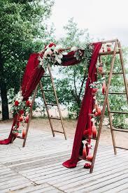 wedding arch ladder 25 wedding decoration ideas with vintage ladders oh best