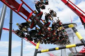San Diego Six Flags Newsparcs X Flight A New Wing Coaster From Bolliger
