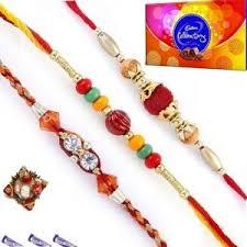 buy rakhi online exclusive family rakhi set online best prices