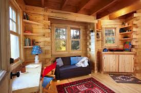 Rustic Log Cabin Interior Design Ideas Style Motivation - Log cabin interior design ideas