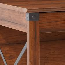 amazon com sauder carson forge desk washington cherry finish