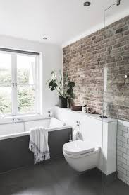 611 best ecstasy models bathrooms ideas images on pinterest bathroom with exposed brick wall