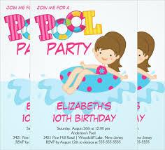 free pool party invitation template for teens u2013 orderecigsjuice info