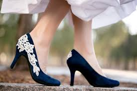 wedding shoes navy blue navy blue wedding shoes bridal shoes low wedding heels blue