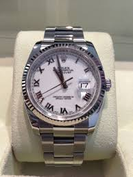 rolex steel oyster bracelet images Sold rolex gents oyster perpetual datejust 36mm case stainless jpg