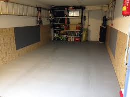 installation in a garage of 25m2 without