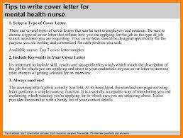 9 mental health cover letter emails sample
