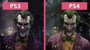 halloween city returns batman arkham asylum u2013 ps3 vs ps4 return to arkham remaster