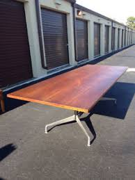 Eames Boardroom Table Herman Miller Large Conference Table Dinning Eames Mid Century