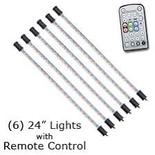 remote controlled color changing led lights for flat panel tvs