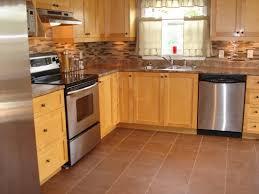 Lowes Kitchen Floor Tile by Kitchen Our 40 Backsplash Using Vinyl Flooring Re Fabbed Kitchen
