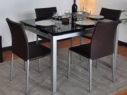 table de cuisine en verre trempé table cuisine verre tremp table de cuisine en verre extensible avec